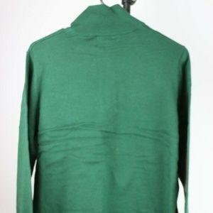 Sweaters - Oregon Ducks Men's Quarter Zip Sweater (Green)